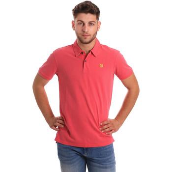 Oblačila Moški Polo majice kratki rokavi Gaudi 811BU64074 Roza