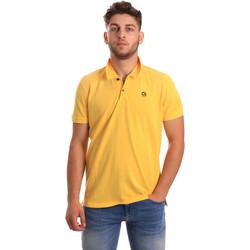 Oblačila Moški Polo majice kratki rokavi Gaudi 811BU64074 Rumena