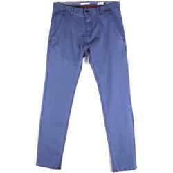 Oblačila Moški Hlače Chino / Carrot Gaudi 811FU25033 Modra