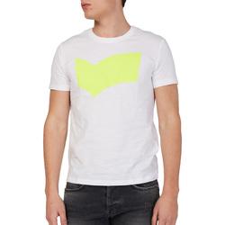 Oblačila Moški Majice s kratkimi rokavi Gas 542973 Biely