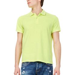Oblačila Moški Polo majice kratki rokavi Gas 310174 Rumena