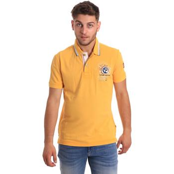 Oblačila Moški Polo majice kratki rokavi Napapijri N0YHDW Rumena