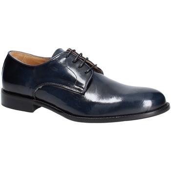 Čevlji  Moški Čevlji Derby Exton 1374 Modra