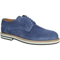Čevlji  Moški Čevlji Derby Exton 671 Modra