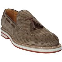 Čevlji  Moški Mokasini Exton 675 Rjav