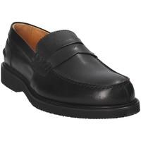 Čevlji  Moški Mokasini Exton 9102 Črna