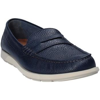 Čevlji  Moški Mokasini Maritan G 460390 Modra
