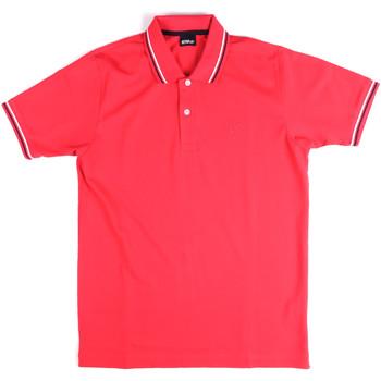 Oblačila Moški Polo majice kratki rokavi Key Up 2Q70G 0001 Roza
