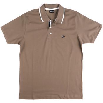 Oblačila Moški Polo majice kratki rokavi Key Up 2Q711 0001 Siva