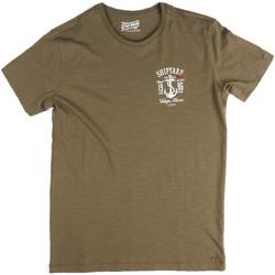 Oblačila Moški Majice s kratkimi rokavi Key Up 2G77S 0001 Zelena