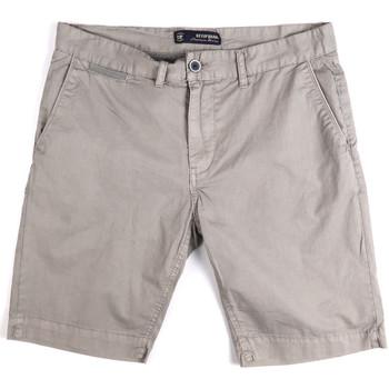 Oblačila Moški Kratke hlače & Bermuda Key Up 265PA 0001 Siva