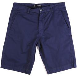 Oblačila Moški Kratke hlače & Bermuda Key Up 2A01P 0001 Modra