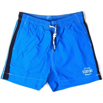 Oblačila Moški Kopalke / Kopalne hlače Key Up 2H17X 0001 Modra