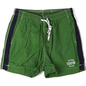 Oblačila Moški Kopalke / Kopalne hlače Key Up 2H17X 0001 Zelena
