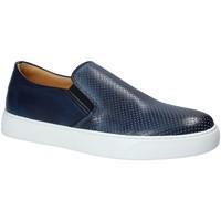 Čevlji  Moški Slips on Exton 515 Modra