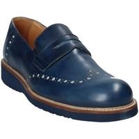 Čevlji  Moški Mokasini Exton 885 Modra