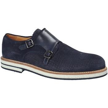 Čevlji  Moški Čevlji Derby Exton 673 Modra
