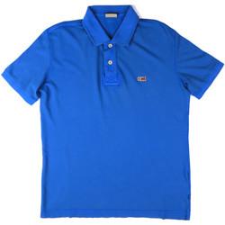 Oblačila Moški Polo majice kratki rokavi Napapijri N0YHDX Modra