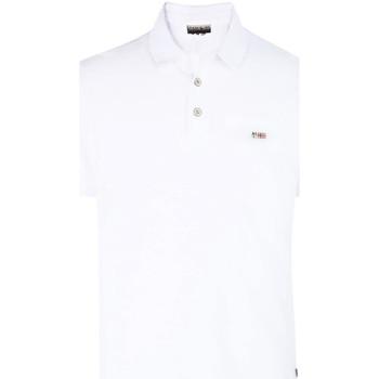 Oblačila Moški Polo majice kratki rokavi Napapijri N0YHDX Biely