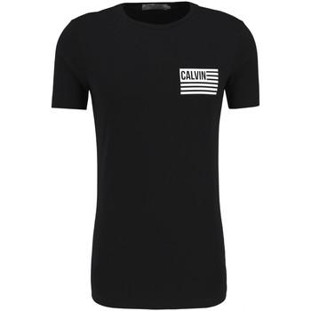 Oblačila Moški Majice s kratkimi rokavi Calvin Klein Jeans J30J306891 Črna