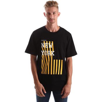 Oblačila Moški Majice s kratkimi rokavi Calvin Klein Jeans J30J306895 Črna