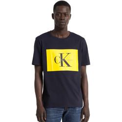 Oblačila Moški Majice s kratkimi rokavi Calvin Klein Jeans J30J307427 Modra