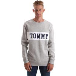 Oblačila Moški Puloverji Tommy Hilfiger DM0DM05257 Siva