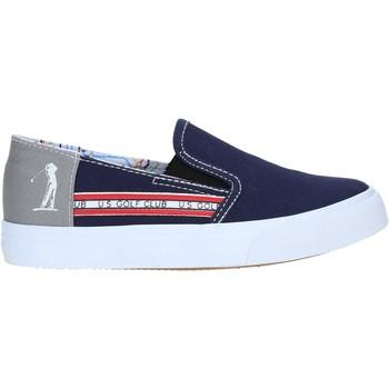 Čevlji  Dečki Slips on U.s. Golf S19-SUK403 Modra