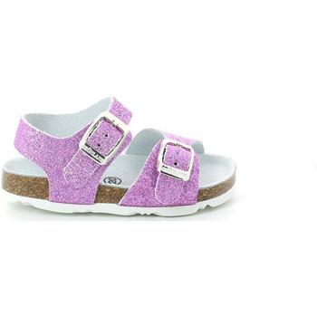 Čevlji  Deklice Sandali & Odprti čevlji Grunland SB1201 Vijolična