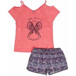 Oblačila Deklice Otroški kompleti Losan 814-8022AB Roza