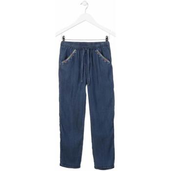 Oblačila Deklice Jeans straight Losan 814-9005AB Modra
