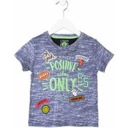 Oblačila Otroci Majice s kratkimi rokavi Losan 815-1017AC Modra