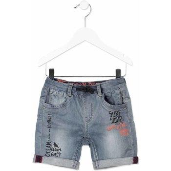 Oblačila Otroci Kratke hlače & Bermuda Losan 815-6012AC Siva