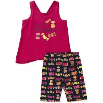 Oblačila Deklice Otroški kompleti Losan 816-8044AD Roza