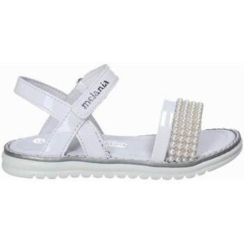 Čevlji  Deklice Sandali & Odprti čevlji Melania ME4094D8E.B Biely