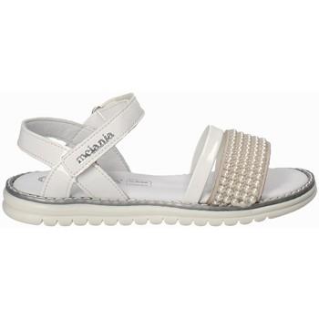 Čevlji  Deklice Sandali & Odprti čevlji Melania ME6094F8E.B Biely