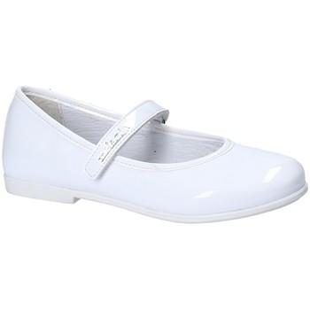 Čevlji  Deklice Balerinke Melania ME6023F8E.A Biely