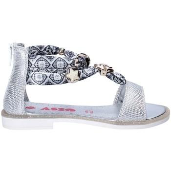 Čevlji  Deklice Sandali & Odprti čevlji Asso 64075 Siva