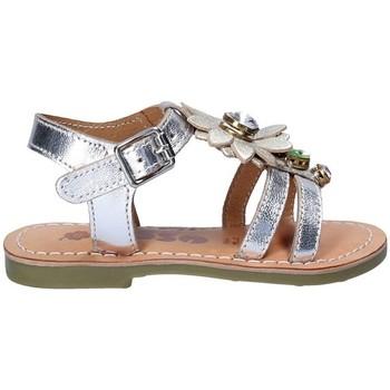 Čevlji  Deklice Sandali & Odprti čevlji Asso 55002 Siva