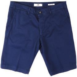 Oblačila Moški Kratke hlače & Bermuda Sei3sei PZV132 8136 Modra