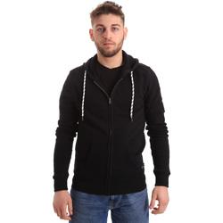 Oblačila Moški Puloverji Key Up 2F01I 0001 Črna