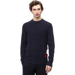 Oblačila Moški Puloverji Calvin Klein Jeans K10K102731 Modra