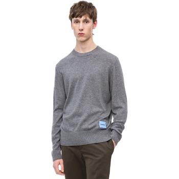 Oblačila Moški Puloverji Calvin Klein Jeans K10K102739 Siva
