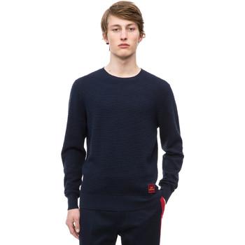 Oblačila Moški Puloverji Calvin Klein Jeans K10K102753 Modra