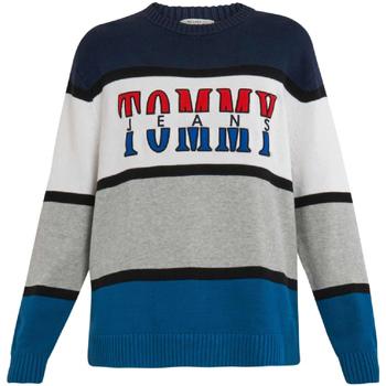 Oblačila Moški Puloverji Tommy Hilfiger DM0DM04471 Modra