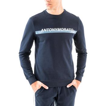 Oblačila Moški Puloverji Antony Morato MMFL00454 FA150048 Modra