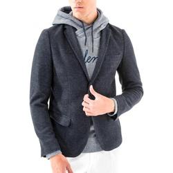 Oblačila Moški Jakne & Blazerji Antony Morato MMJA00368 FA100171 Modra