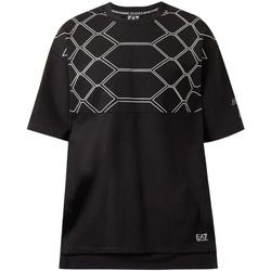 Oblačila Moški Majice s kratkimi rokavi Ea7 Emporio Armani 6ZPT43 PJQ0Z Črna