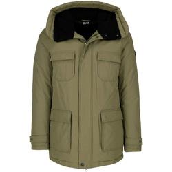 Oblačila Moški Parke Ea7 Emporio Armani 6ZPK05 PNN5Z Zelena