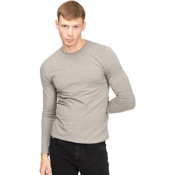 Oblačila Moški Majice z dolgimi rokavi Gas 300187 Siva